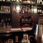 Zoilo bar with candles