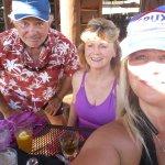 Great food having a good time at boat boatnik