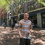 Chris in Pioneer Square