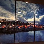Picture in the restaurant of Harbour Grill 112-1334 Island Hwy | Discovery Harbour Shopping Cent