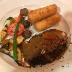 Steak dinner, Harbour Grill 112-1334 Island Hwy | Discovery Harbour Shopping Centre, Campbell Ri