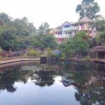 Mini lagoon near Lambingan Bridge