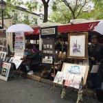 テルトル広場の絵描さんたち