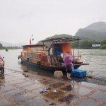 Ferry from Daxu to farm island