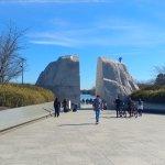 Approaching MLK Memorial