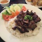 Grilled Pork ove Rice