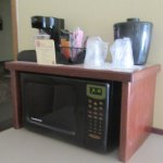 Microwave and Coffee Maker, Best Western Pony Soldier Inn, Airport, Portland, Oregon