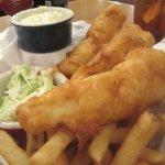 Fish and Chips, Elmer's Restaurant - Parkrose