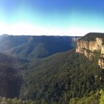View from the Govetts Leap lookout point.