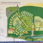 Map of the camping and park
