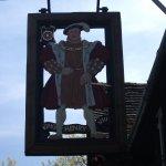King Henry VIII Pub sign