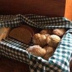 Freshly baked breads rolls every morning!
