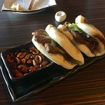 Beef Fillet Teriyaki Buns with Sweet Peanut Soy