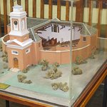 Model of original Penitentiary Chapel