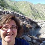 Hot springs selfie