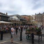 Covent Garden outdoor et ses attractions