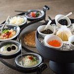 5 kind of caviar tasting