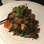 Stir Fried beef with Garlic and Pepper