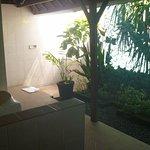 Great outdoor bathroom