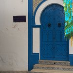 Porte d'une mosquée de la Médina