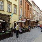 Armenian street Foto