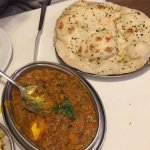 Dal Makhani which had paneer