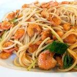 Lindian Shrimp Spaghetti