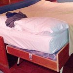 Strange bed arrangement