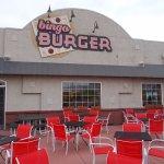 Bingo Burger, Central Plaza, Pueblo CO. Very nice outside area.