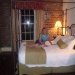 Relaxing in room 327