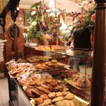The mouthwatering pastry table