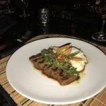 Asado Marinated Grilled Skirt Steak.