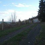 Felicity Cottage's driveway.