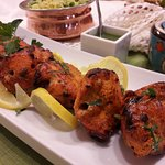 Chicken Tikka fresh from the Grill (Tandoor)