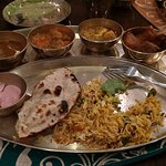 The great for eyes and taste-buds Thali!!