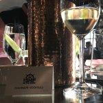Delicious hot seafood platter and a Sauvignon de Touraine