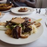 La copieuse et raffinée salade gersoise