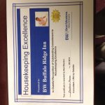 Housekeeping Excellence Award
