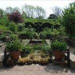 The slightly unkempt sunken garden, RHS Harlow Carr