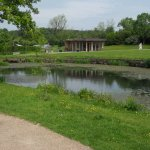The Queen Mother's Lake, RHS Harlow Carr