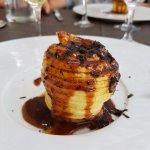 Pommes rôties au caramel & truffes du Périgord