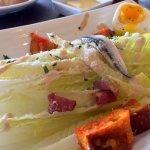 Set Lunch: Appetiser: Caesar Salad