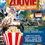 Every First Saturday of the Month, Friends of the Curaçao Zoo host our Zoovie Picnic Night.