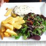 steak haché boucher sauce au poivre