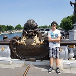 Alexander on the Pont Alexandre III