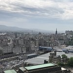 To the left of Princes Street