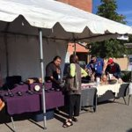 Poeh student artists selling their wares