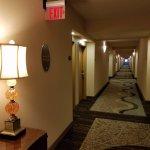 Hallway at the Buena Vista Suites