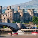 Conwy castle taken from opposite side of the river