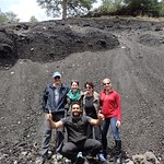 Checking out the lava on Mount Etna